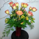 Dozen roses any color $65 (Price may increase during holidays such as Valentines day)